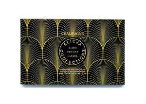 Champagne Dark Chocolate by Alicja Confections