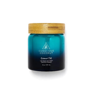 Coconut Oil Jar by Conscious Coconut