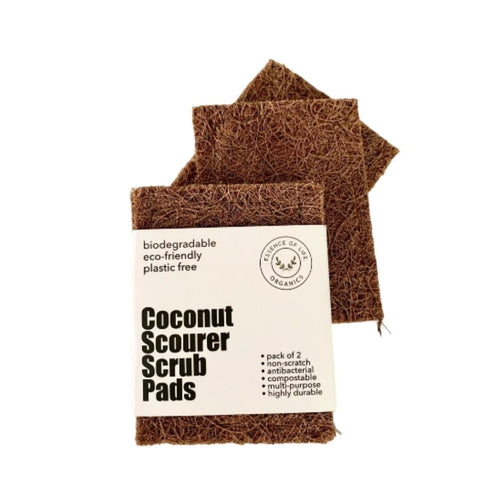 Coconut Scourer Scrub Pads by Essence of Life