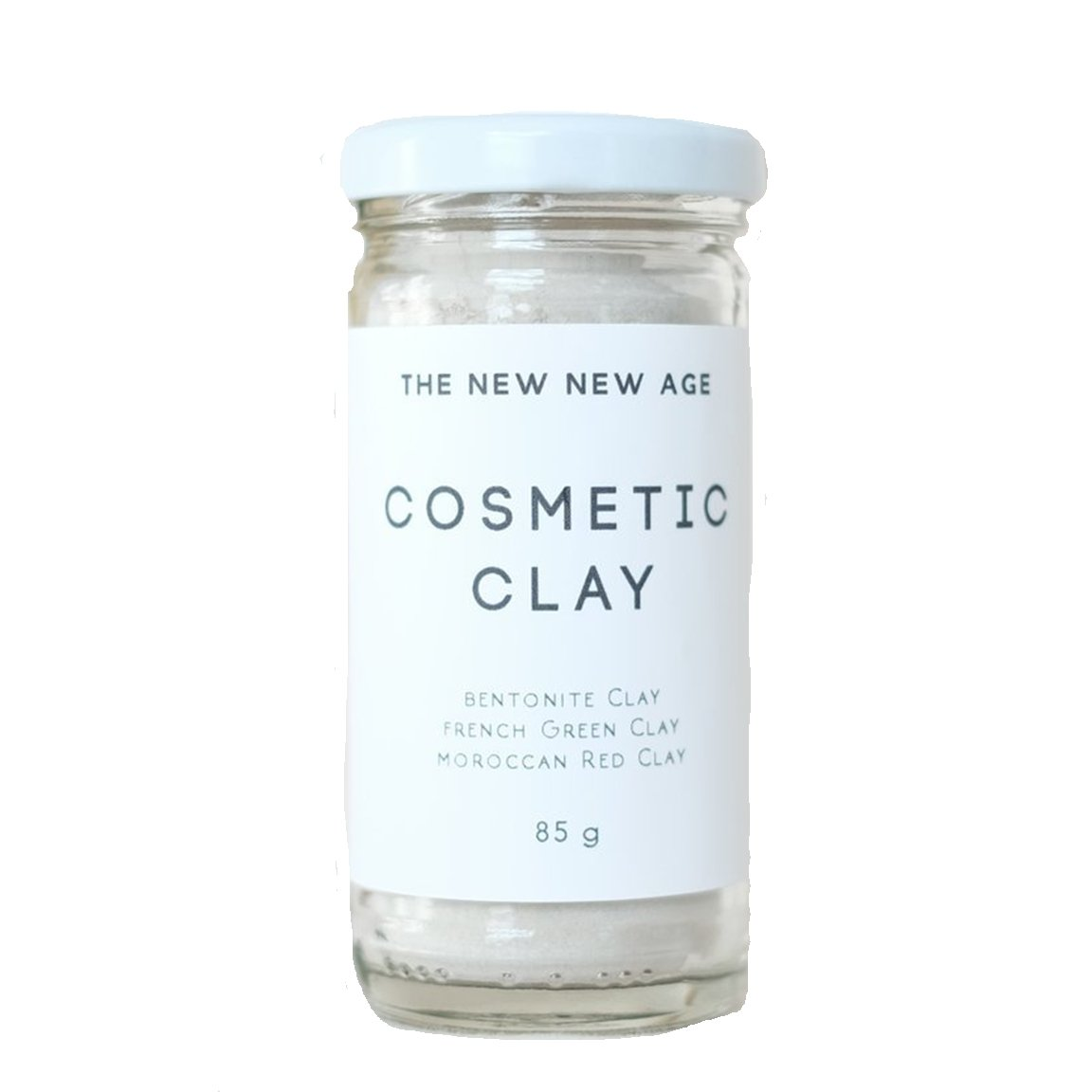 Cosmetic Clay Facial Mask by The New New Age