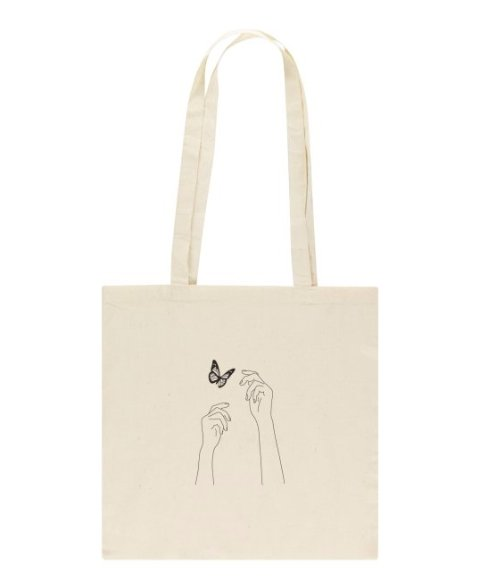 Cotton Tote Bag by Created by Gill