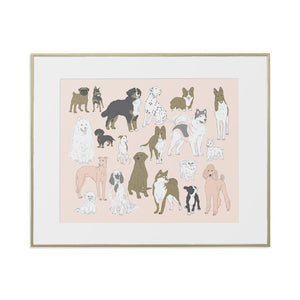 Dogs Art Print by Baltic
