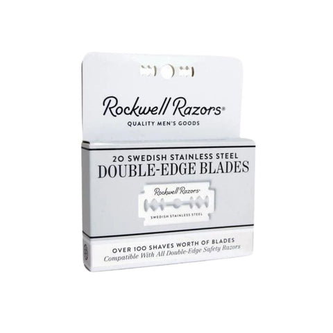 Double-Edge Razor Blades by Rockwell Razors
