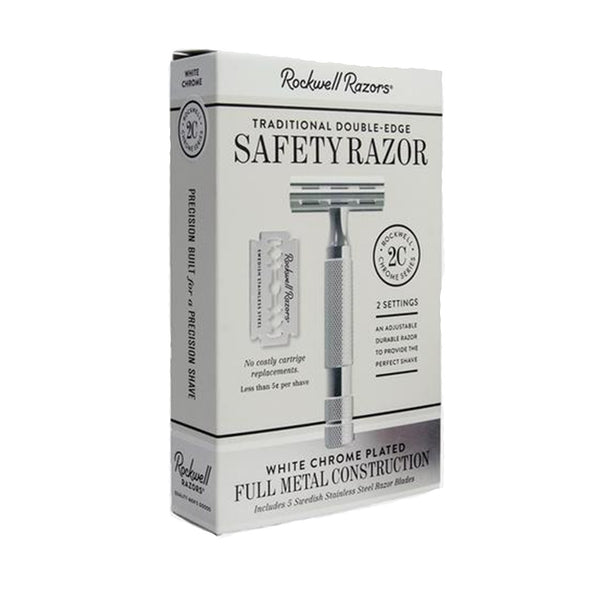 Double Edge Safety Razor 2C by Rockwell Razors