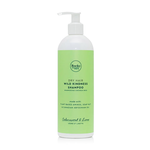 Dry Hair, Cedarwood & Lime Natural Shampoo by Rocky Mountain Soap Company