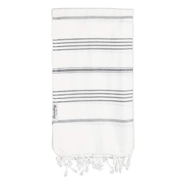Everyday Standard White Base Towel by Sunday Dry Goods