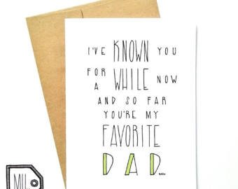 Favorite Dad by Made in Happy