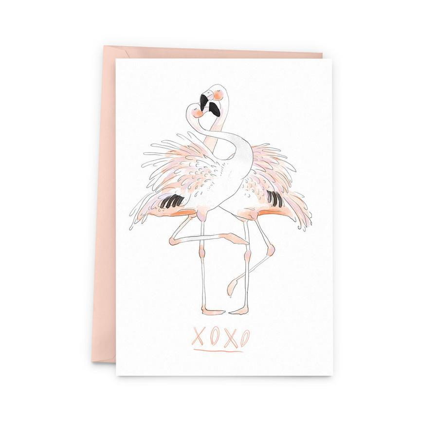 Flamingos Card by Baltic