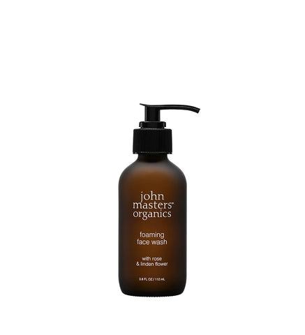 Foaming Face Wash with Rose & Linden Flower by John Masters Organic