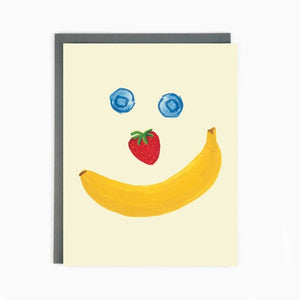 Fruitface Card by Made in Brockton Village
