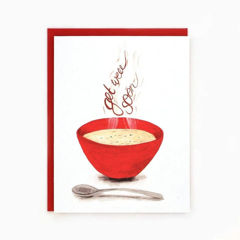 Get Well Soup Card by Made in Brockton Village