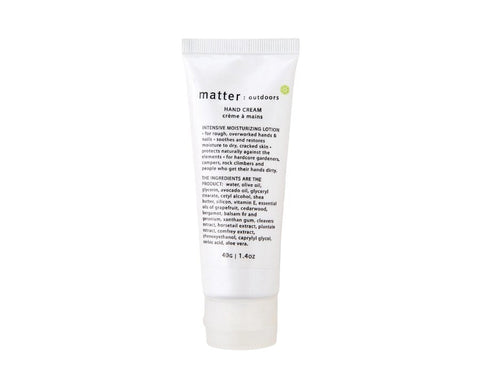 Hand Cream by Matter Company