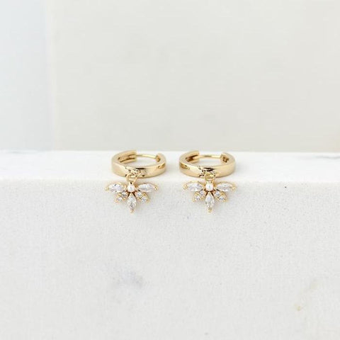 Harlowe Hoop Earrings by Lover's Tempo