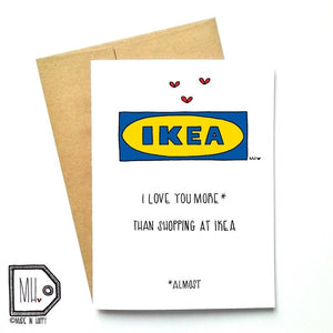Ikea Love by Made in Happy