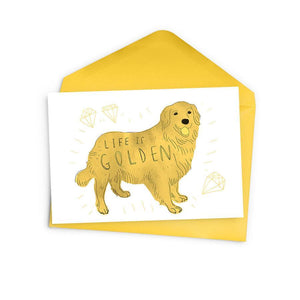 Life is Golden Card by Baltic