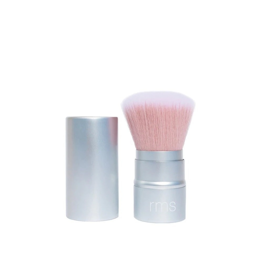 Living Glow Retractable Powder Brush by RMS Beauty