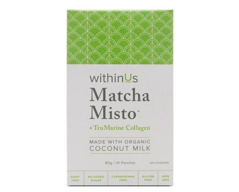 Matcha Misto Pouches by WithinUs