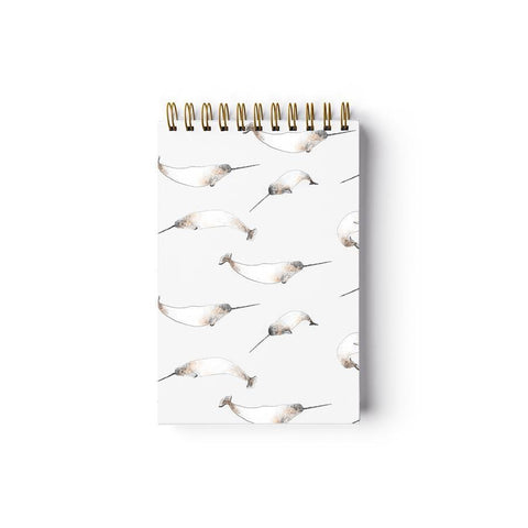 Narwhals Reporter notepad by Baltic