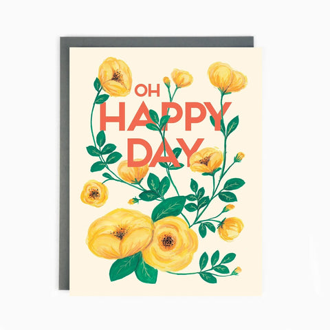 Oh Happy Day Card by Made in Brockton Village