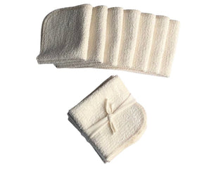 Organic Cotton Washcloths - 7 pack by Organics by Heather