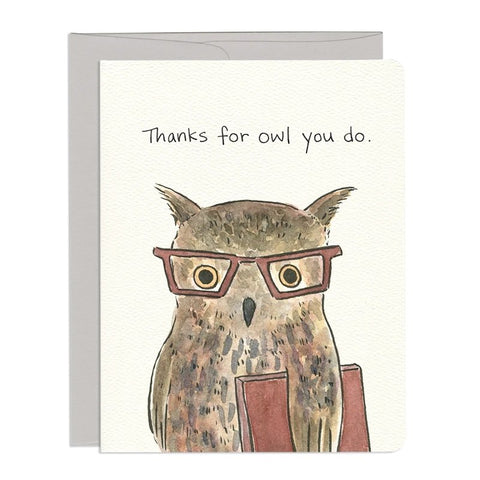 Owl Thank You by Gotamago