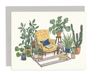 Reading Nook Card by Gotamago