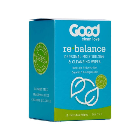Rebalance Wipes by Good Clean Love