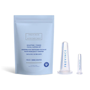 Sculpting + Toning Facial Cupping Set by Province Apothecary