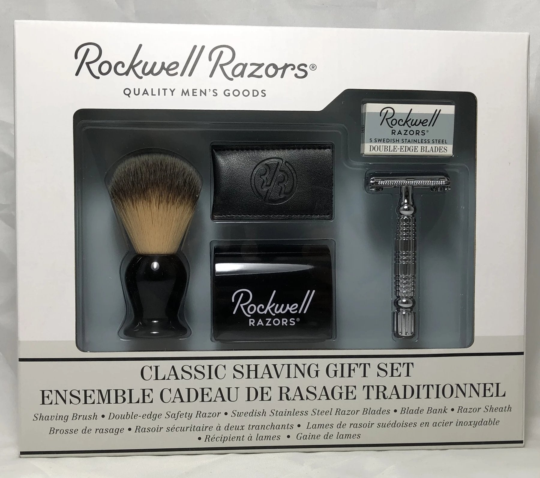Shaving Set by Rockwell Razors