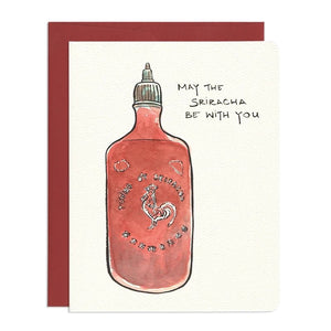 Sriracha Card by Gotamago