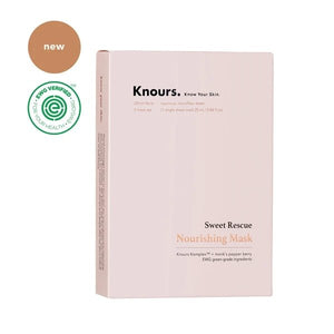 Sweet Rescue Nourishing Sheet Mask by Knours