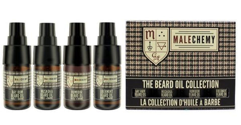 The Beard Oil Collection by Malechemy