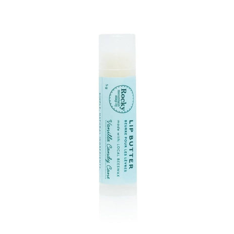 Vanilla Candy Cane Lip Butter by Rocky Mountain Soap Company