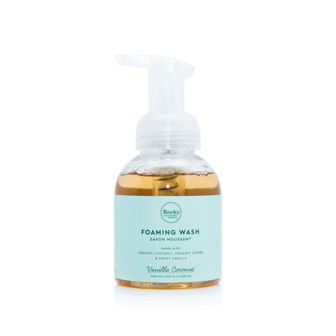 Vanilla Coconut Foaming Wash by Rocky Mountain Soap Company