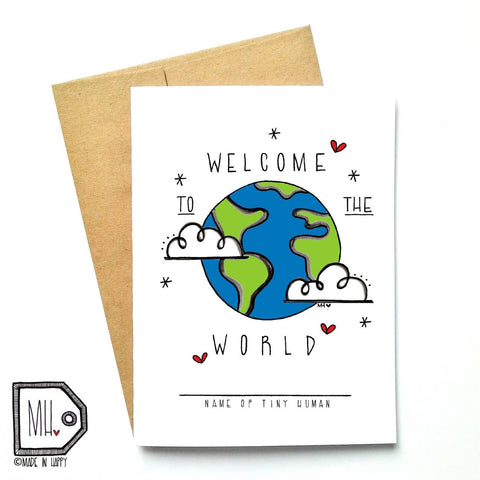 Welcome to the World by Made in Happy