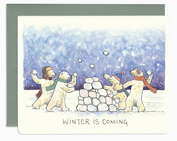 Winter is Coming by Gotamago