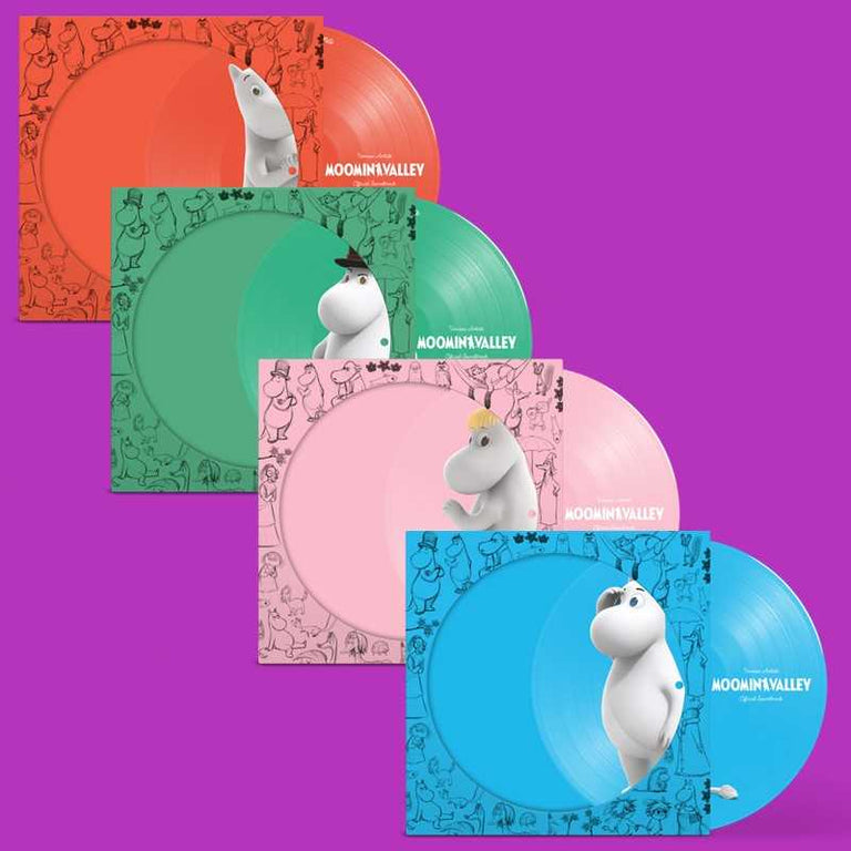 Moominvalley - Picture Disc x 4