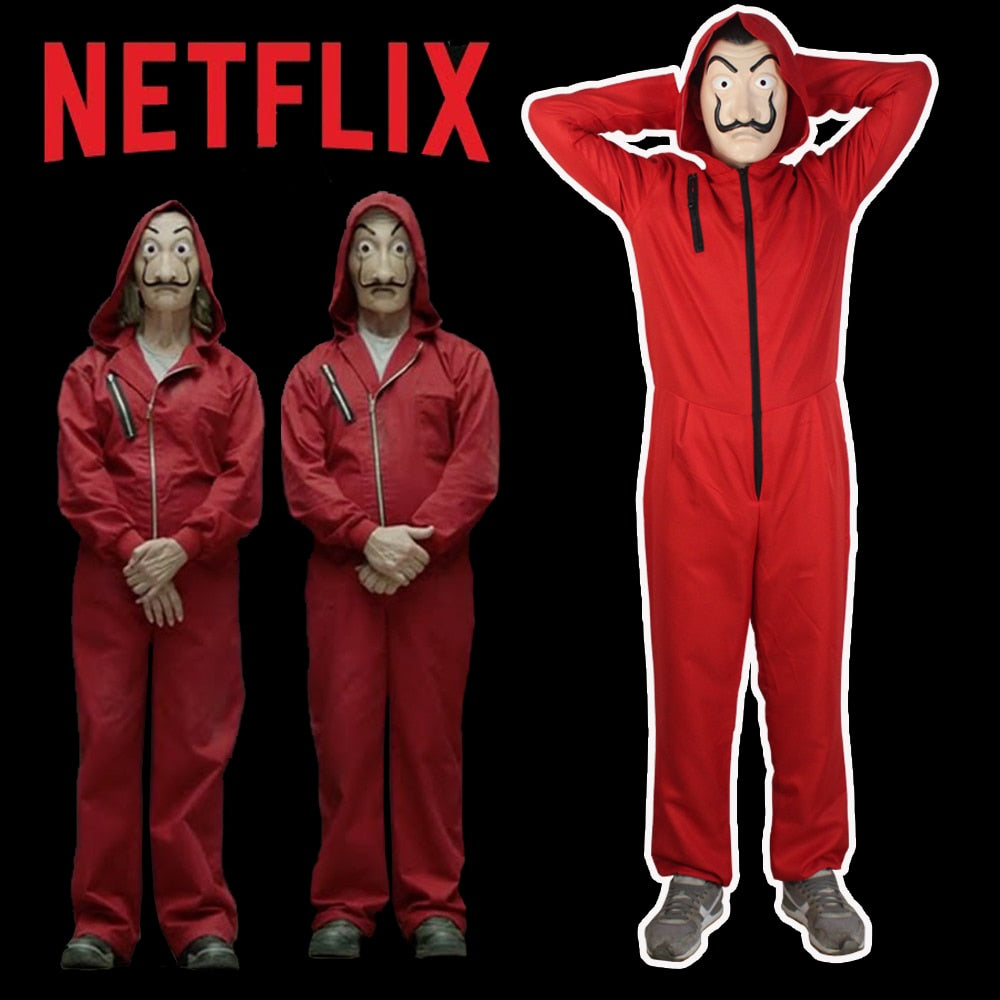 La Casa de Papel Costume Money Heist Costume