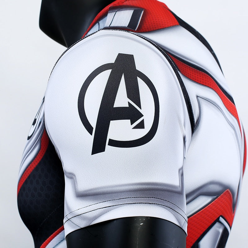 Avengers 4 Endgame Quantum Realm Compression T-shirts for Men