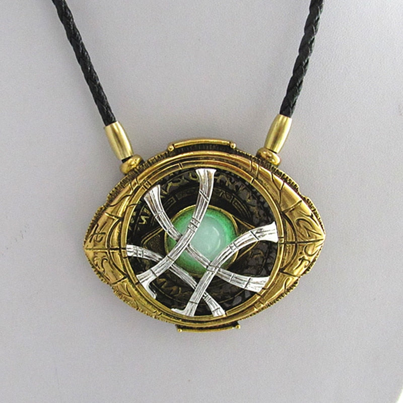 Doctor Strange Necklace Agamotto Eye Prop Replica