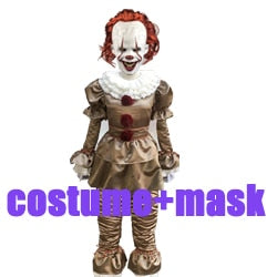 Pennywise Costume IT Halloween Costume Pennywise Clown Cosplay