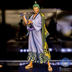One Piece DXF Grandline Men Wano Country Vol.2 Roronoa Zoro Figure