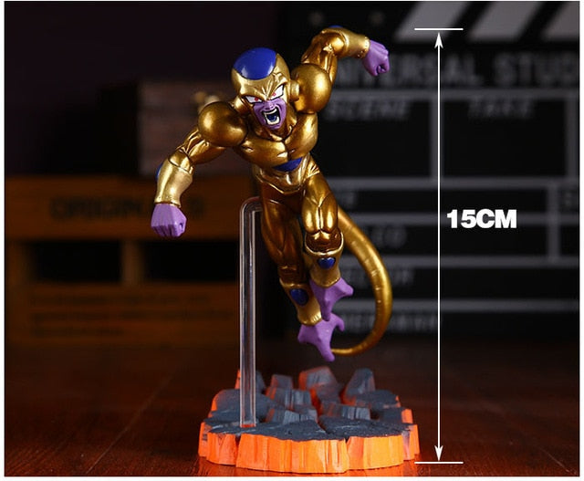 Dragon Ball Super Son Goku Golden Frieza Action Figure