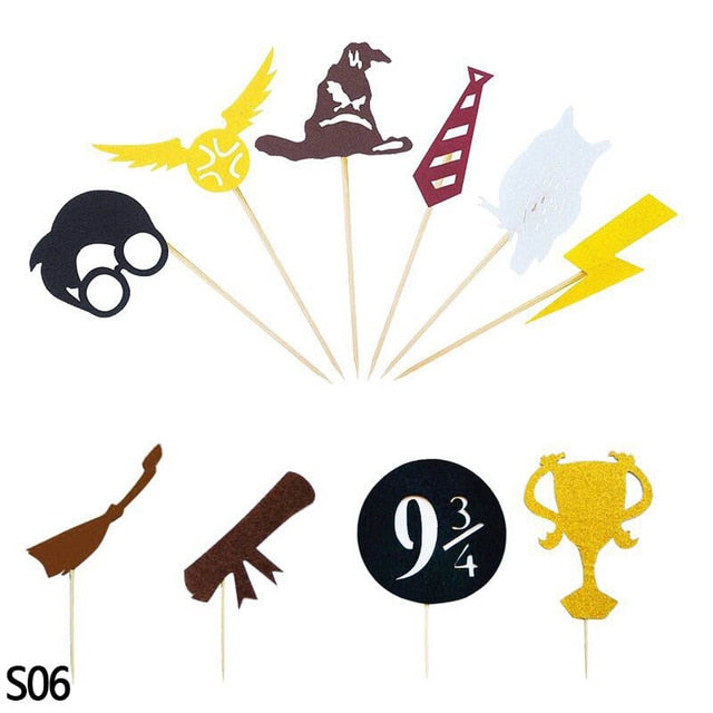 Harry Potter Happy Birthday Banner