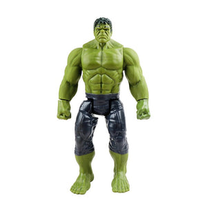 Marvel Avengers Thanos Hulk Buster Spiderman Iron Man Captain America Thor Wolverine Black Panther Action Figure Dolls