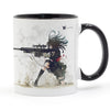 Anime Sniper Girl Barrett Mug