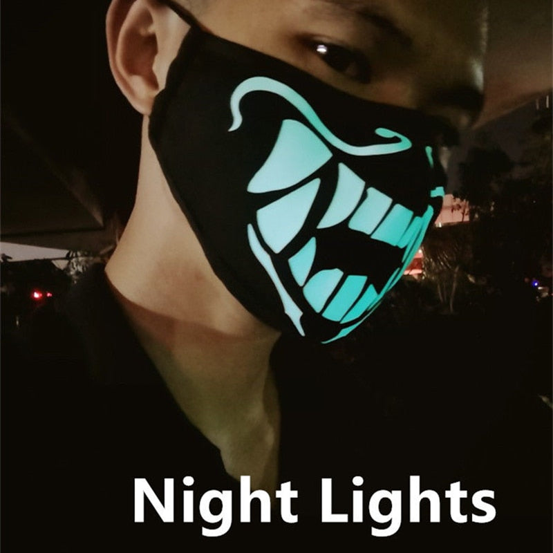 K/DA Akali Assassin Face Mask Lights