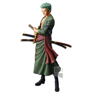 ONE PIECE Grandista - THE GRANDLINE MEN - Roronoa Zoro Figure BANPRESTO