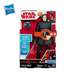 Hasbro Star Wars Interachtech Kylo Ren Kylo Ren Imperial Stormtrooper Electronic Action Figure With Sound Boys Gift Collection