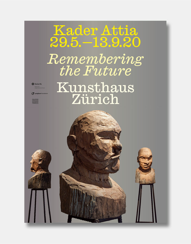 Kader Attia - Remembering the Future [Ausstellungsplakat]